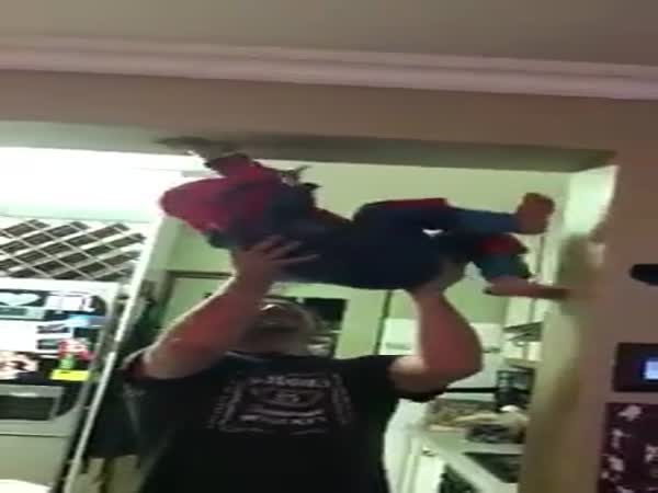 Real-Life Spiderkid