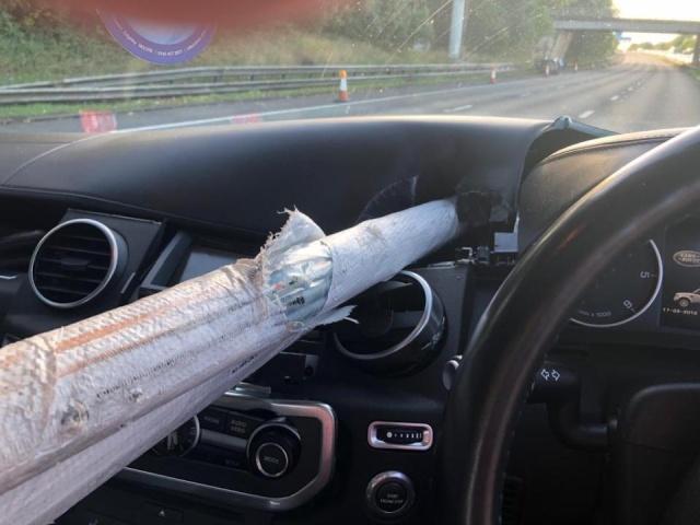 Driver Cheats Death (4 pics)