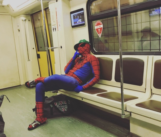 Seen in The Russian Subway (41 pics)