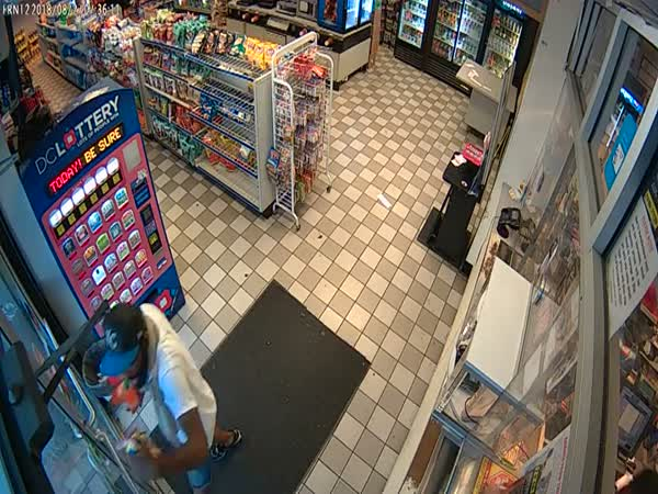 Serial Thief Gets Locked Inside Store And Freaks Out