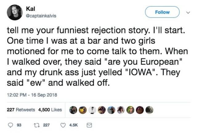 Rejection Stories (21 pics)