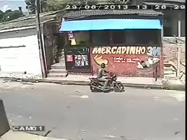 Unsuccessful Robbery Attempt