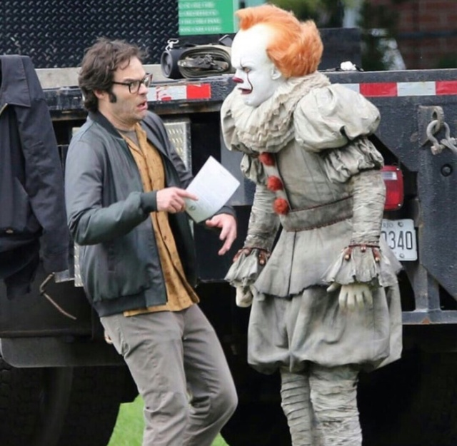 """New Photos From The Set Of """"It 2"""" (4 pics)"""