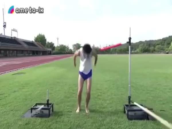 Rotating Bamboo Sword Challenge