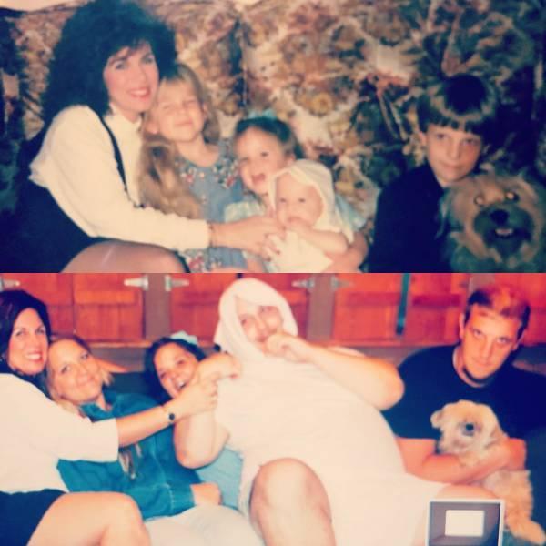 Recreated Childhood Photos (22 pics)