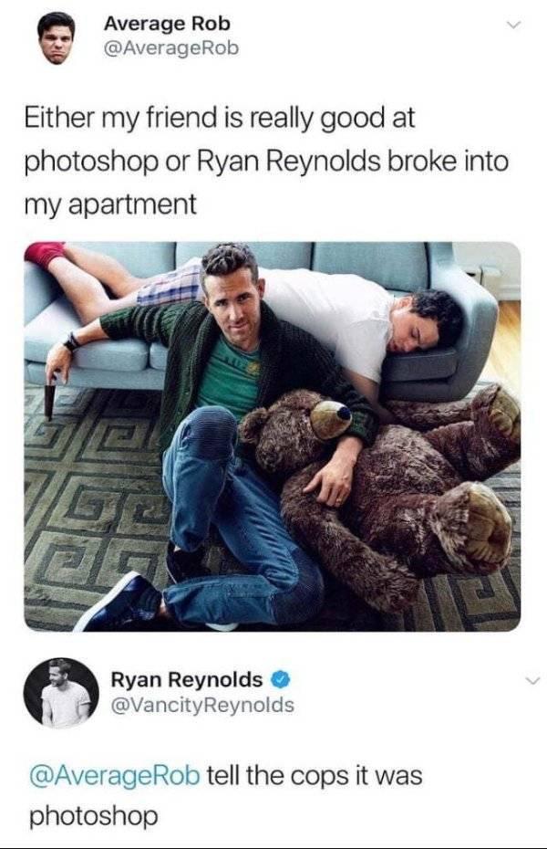 Ryan Reynolds Memes (17 pics)