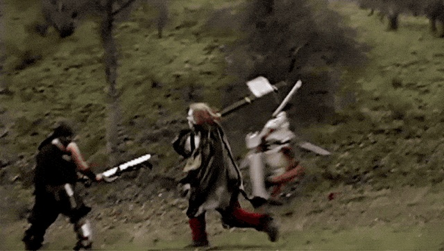Welcome To The World Of Live Action Role-Playing (14 gifs)