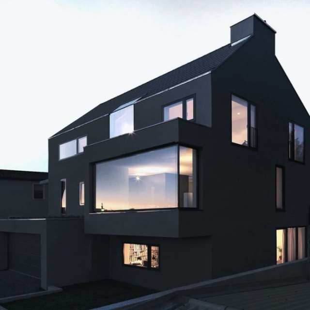 Black Houses (18 pics)
