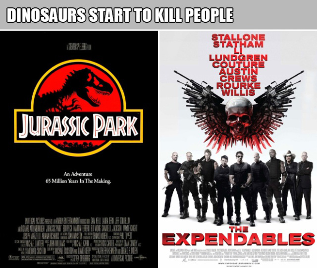 These Movies Can Be Described With The Same Sentence (15 pics)