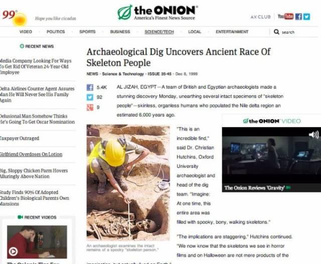"Hilarious ""The Onion"" Headlines (33 pics)"