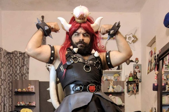 This is The best #Bowsette Cosplay (4 pics)