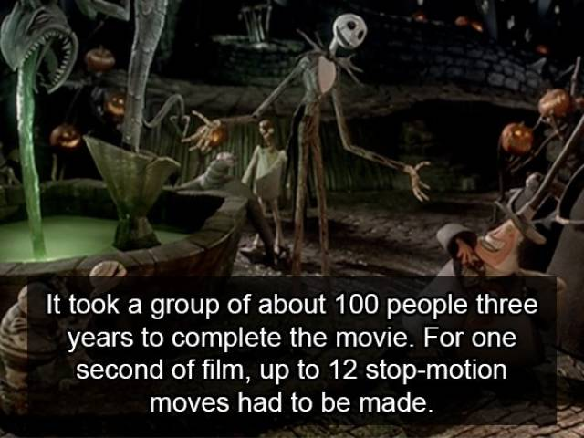 "Interesting Facts About ""The Nightmare Before Christmas"" (14 pics)"