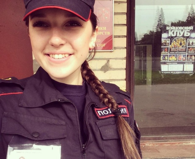 Cute Russian Police Girls (25 pics)