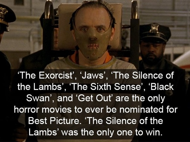 Facts About Horror Movies (17 pics)