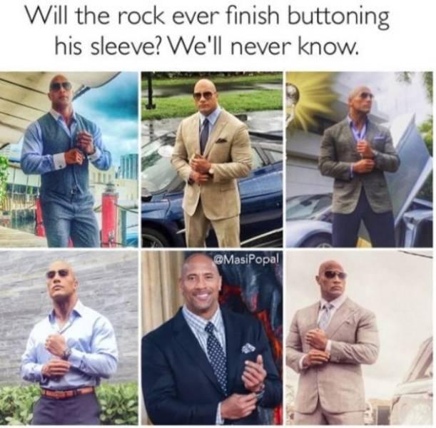 Dwayne Johnson Memes (19 pics)