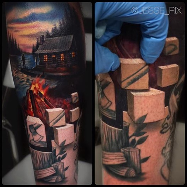 Amazing A World Beneath The Skin Tattoos (9 pics)