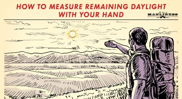 How To Measure Remaining Daylight (2 pics)