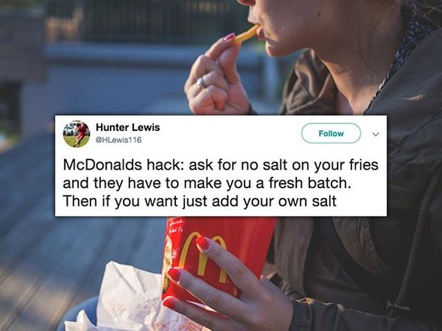 Interesting McDonald's Hacks (19 pics)