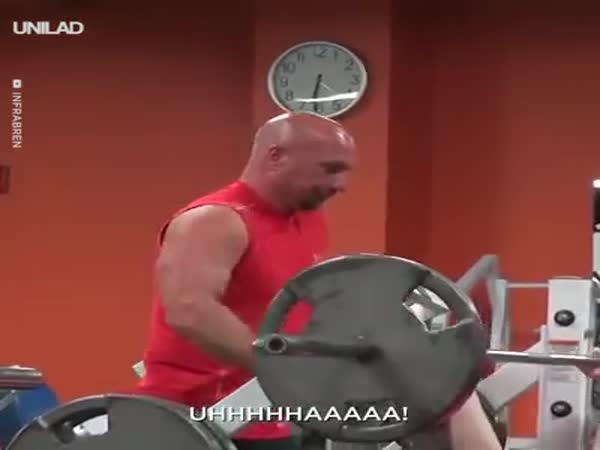 It's A Heavy Weight Man