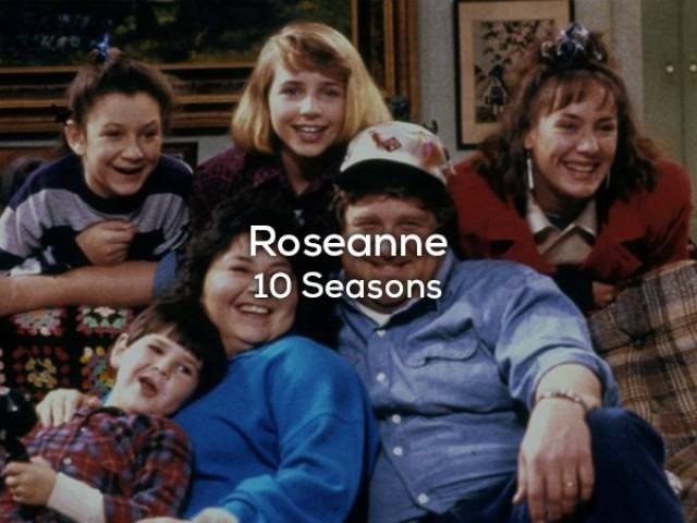 TV Comedies With The Biggest Amount Of Seasons (21 pics)