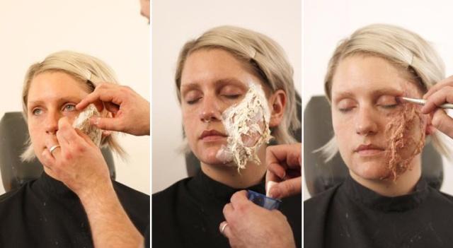 How to Make a Fake Wound (28 pics)