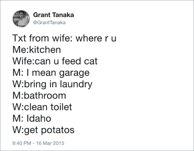 Husbands Tweet About Marriage (21 pics)