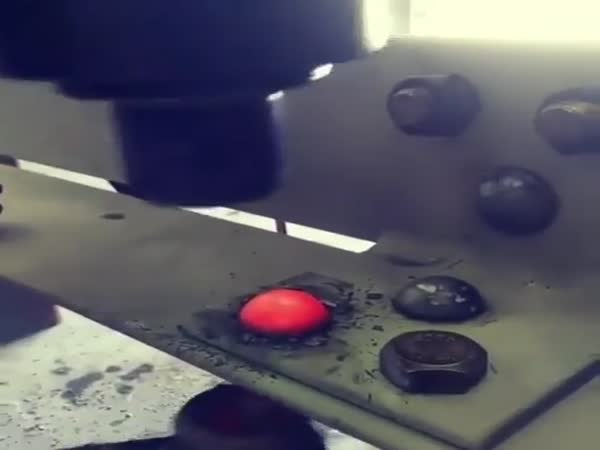 Riveting Together Steel Girders