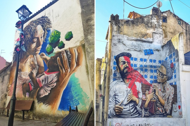 Lisbon's Government Allowed Street Artists To Paint On Walls (20 pics)