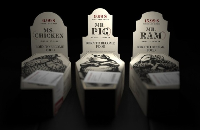 Meat Packaging Designs That Can Make You Go Vegan (6 pics)