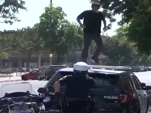 I'm Just Taking Off The Snowflakes Officer