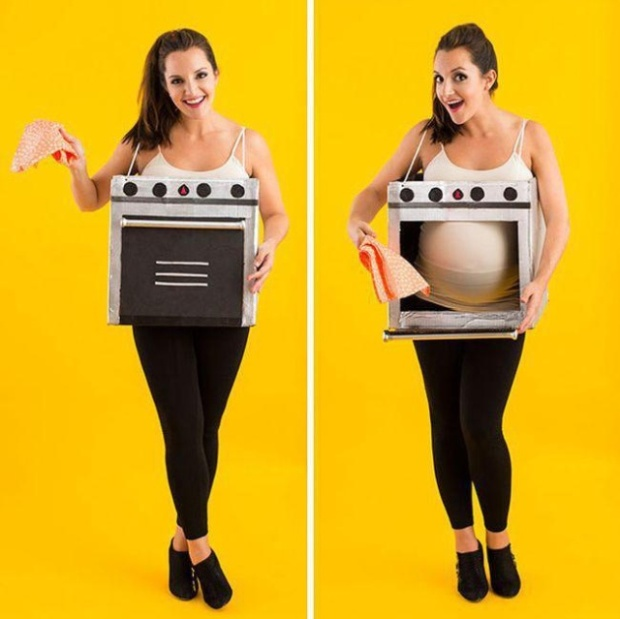 Halloween Costumes For Pregnant (16 pics)