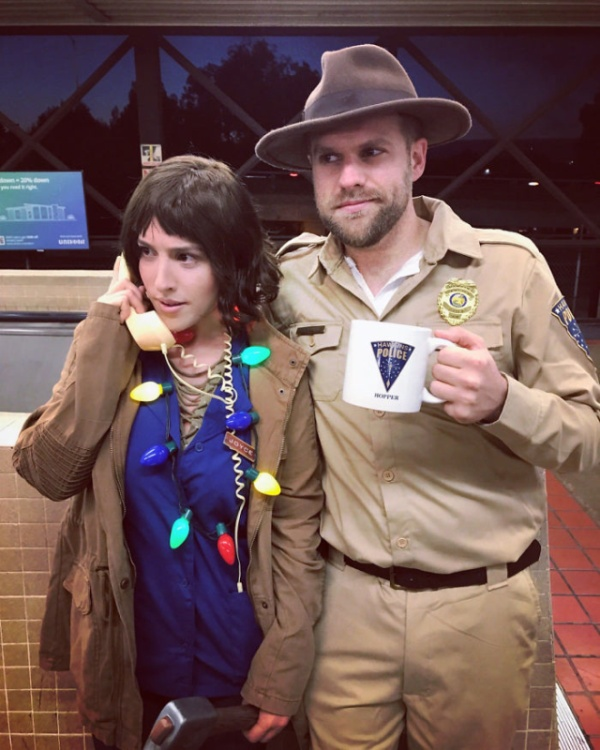 Great Halloween Costumes For Couples (36 pics)
