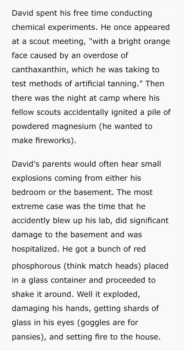 "A Story About ""Radioactive Boy Scout"", A Guy Who Was Too Smart For His Age (18 pics)"
