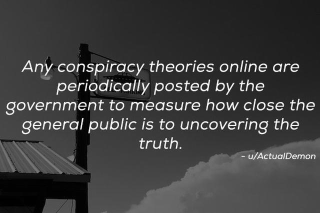 Conspiracy Theories (21 pics)