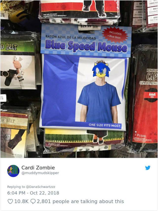 Hilarious Halloween Costume Knock-Offs (41 pics)