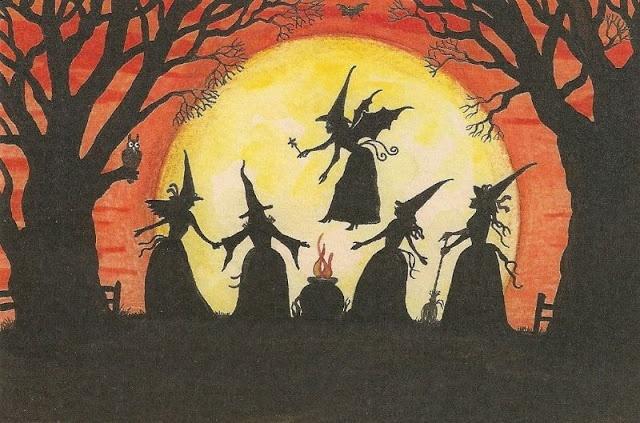 Vintage Halloween Postcards (43 pics)