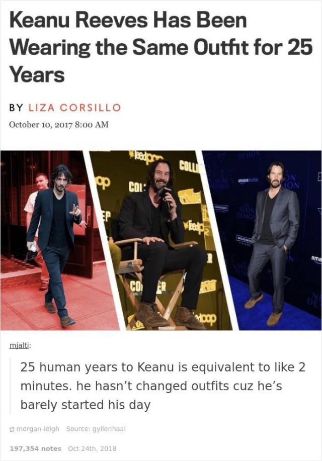 Keanu Reeves Memes (19 pics)