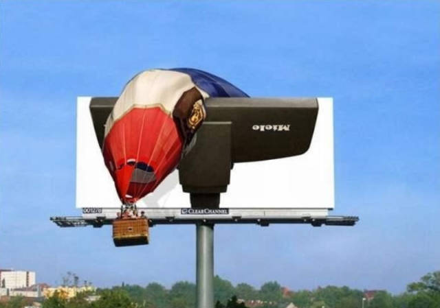 Examples Of Very Smart Outdoor Advertising (21 pics)