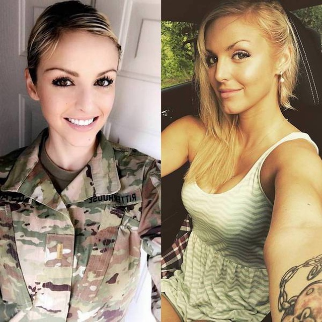 Cute Girls In And Out Of Uniform (18 pics)