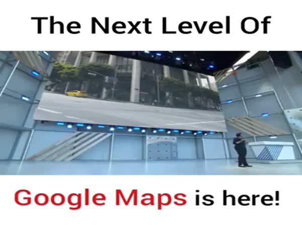 Next Level Google Maps Or Feeding Info-Data To The Beast AI