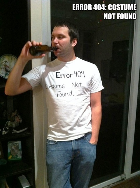 Last-Minute Halloween Costumes (21 pics)