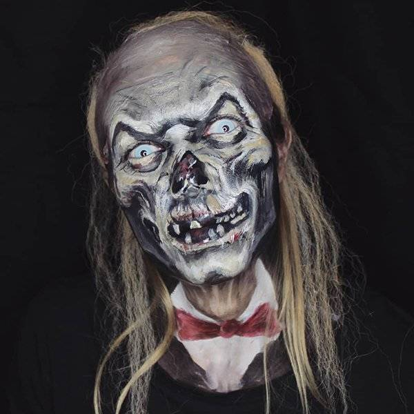 Very Scary Halloween Makeup (40 pics)