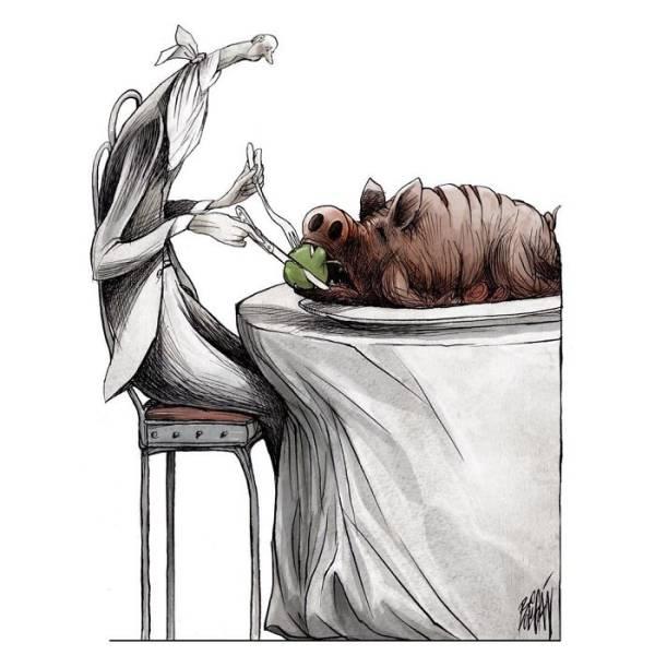Satirical Cartoons By Angel Boligán (29 pics)