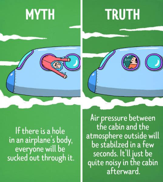 Hollywood Myths Vs Reality (12 pics)