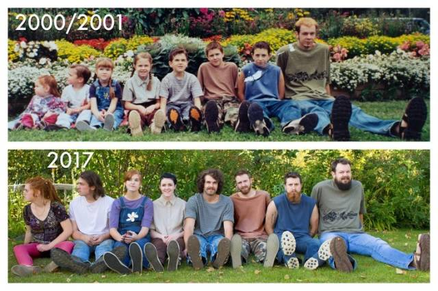 Old Photos Recreated (25 pics)