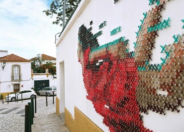 Unusual street art (6 pics)