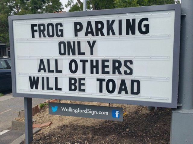 Local Gas Station Has Funny Signs (20 pics)
