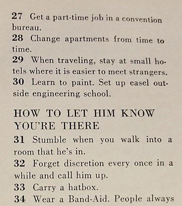 129 Ways To Get A Husband (24 pics)