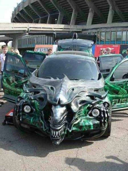 You Don't See Cars Like This Every Day (45 pics)