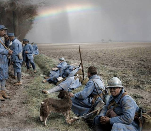 World War I In Color (44 pics)